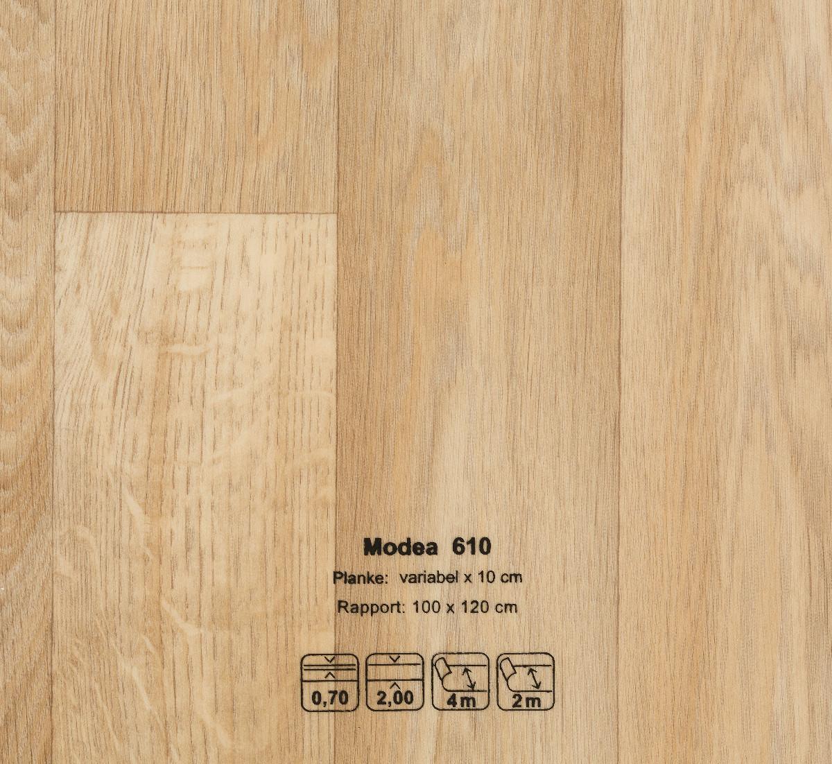modea cv belag 400cm cv wohnbau objekta19 dess 610. Black Bedroom Furniture Sets. Home Design Ideas