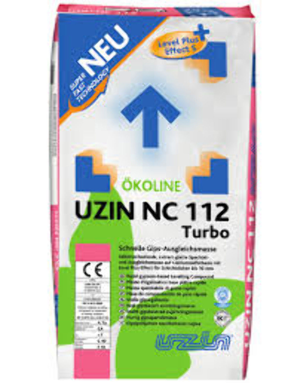 uzin nc 112 turbo gipsspachtelmasse - geb. a 25 kg